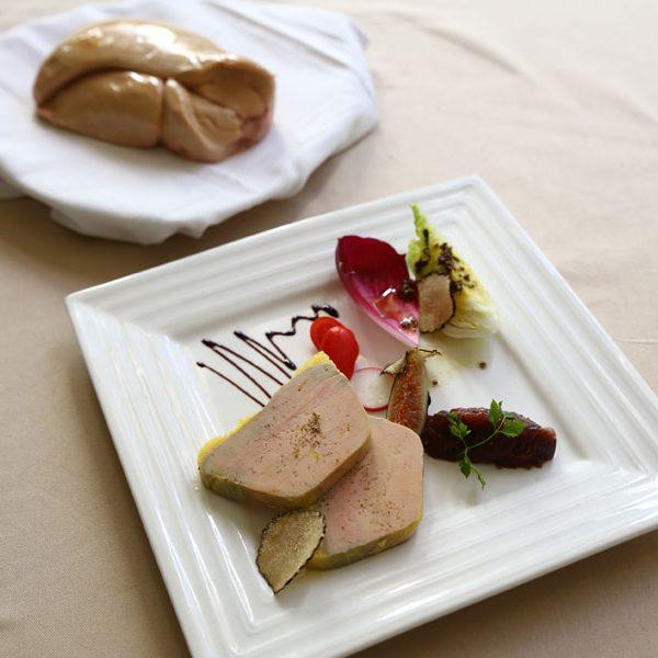 Foie gras maison produit traiteur restaurant gastronomique et bistrot daniel desavie Valbonne sophia antipolis