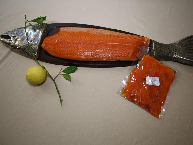 saumon fume label rouge maison produit traiteur restaurant gastronomique et bistrot daniel desavie Valbonne sophia antipolis